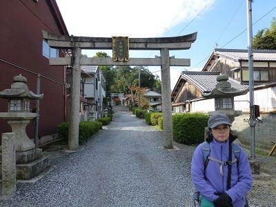 057 金文字の鳥居(吉姫神社)