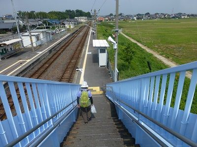 141 井田川駅横断橋