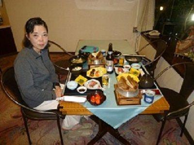 61-① ホテル・夕食