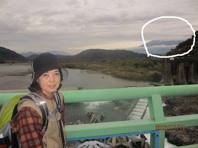 52 富士川橋からの富士山眺望