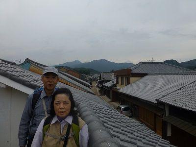 124 関宿町並み眺望