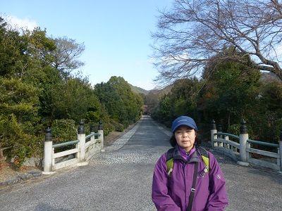 126 天智天皇陵参道