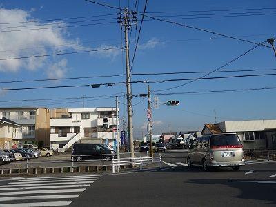 002 下田橋西交差点(出発地)