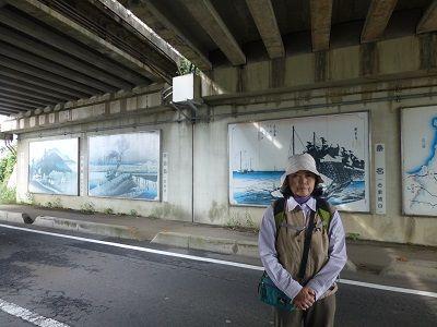 087 壁画・右(名阪道高架下)