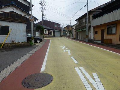 041 カラー舗装(歩いてきた道)