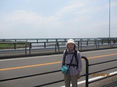 36 酒匂橋からの海