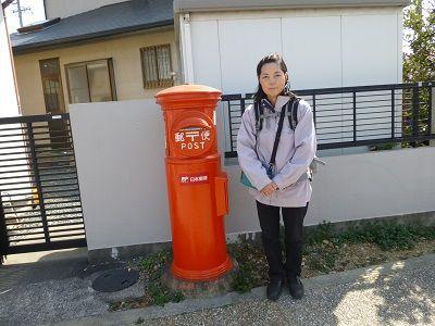 094 円柱形ポスト