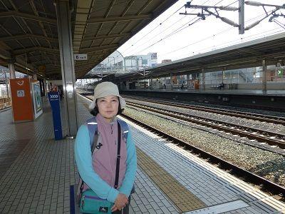 107 新幹線豊橋駅ホーム