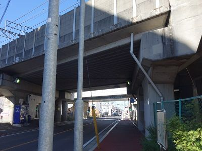 052 烏森駅ガード