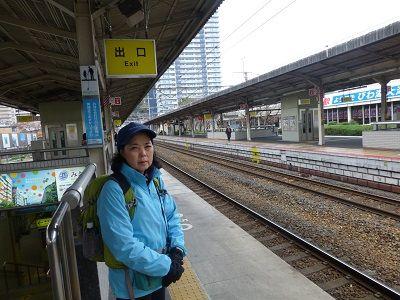 164 大津駅ホーム