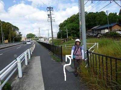 059 道案内・分岐(右の道を進む)