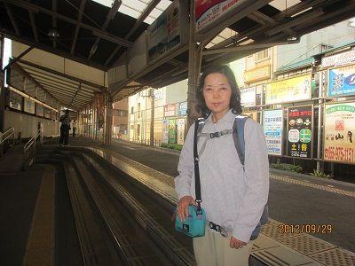 53 三島広小路駅ホーム