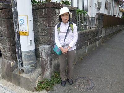 051 井尻道道標