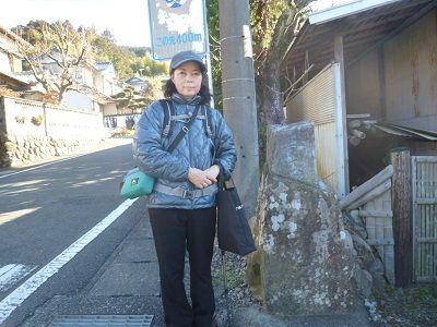 24 菊川辻の道標