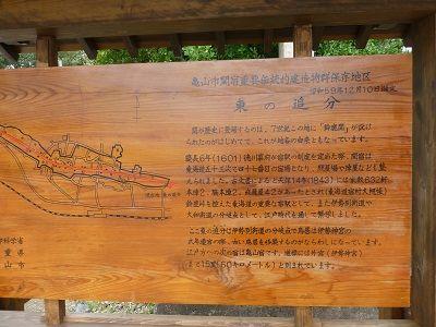 100 関宿東追分跡