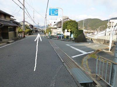 095 分岐(直進)