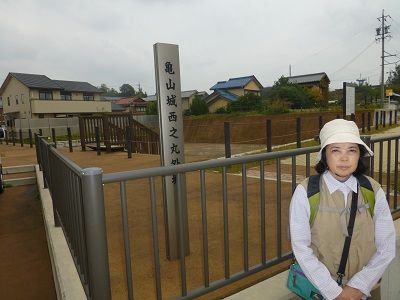 035 亀山城西ノ丸外堀跡