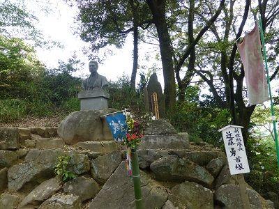 040 近藤勇首塚全景