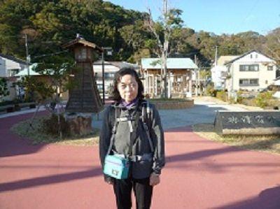 50 興津宿公園(道標)