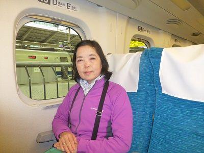 003 新幹線車内(東京駅)