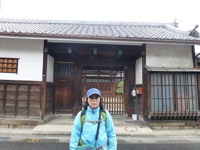 086 大養寺(長屋門)