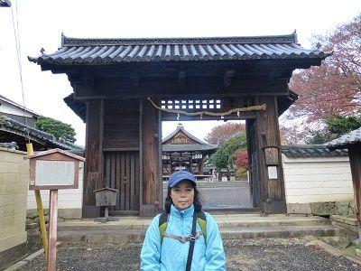 079 篠津神社・表門(膳所城北大門)