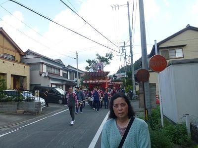 030 日坂宿・祭の山車
