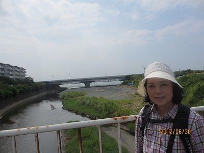14 押切橋からの海
