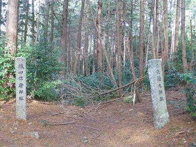 051 左:織田信澄邸跡・右:森蘭丸邸跡
