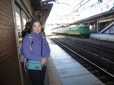 171 琵琶湖線・草津駅ホーム