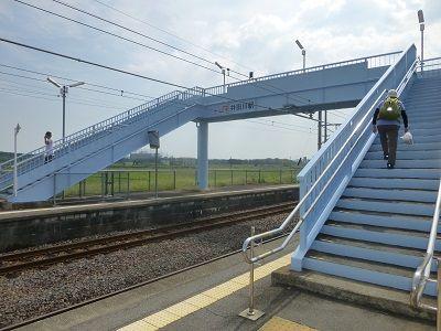 139 井田川駅横断橋