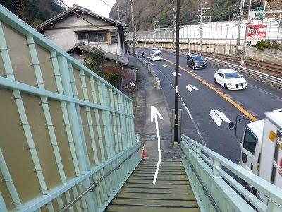 076 分岐(歩道橋②)