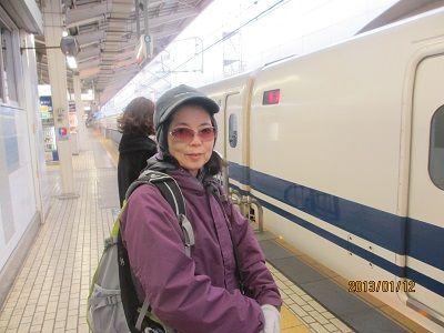 01 東京駅新幹線ホーム