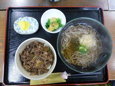 022 牛丼セット