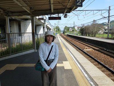 119 名電長沢駅ホーム