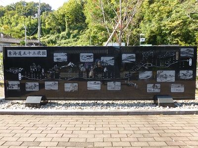 094 東海道五十三次図