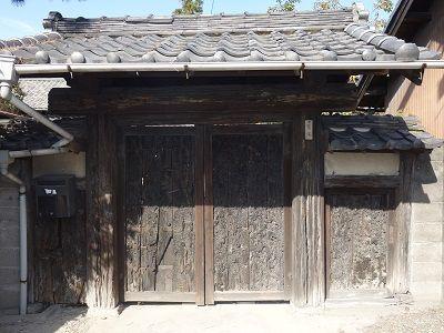 103 鷲尾家(黒門の家)