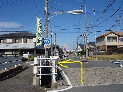 100 分岐(狐海道東交差点)左