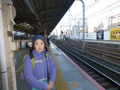 003 JR三宮駅ホーム