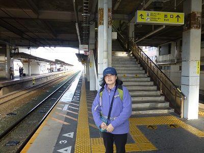 157 瀬田駅ホーム