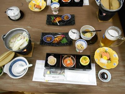 180 関ロッジ・夕食③