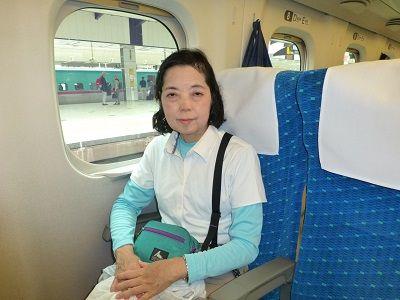 003 新幹線車内