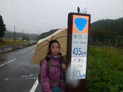 084 435㎞標識