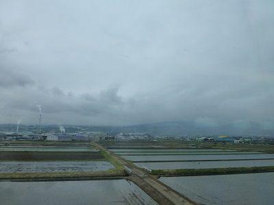 158 富士山は雲の中(新富士付近)