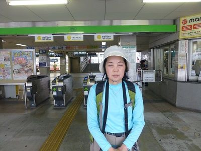 136 知立駅・改札口