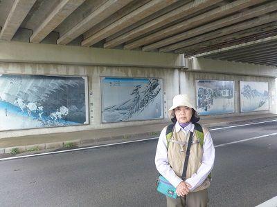 084 壁画・左(名阪道高架下)