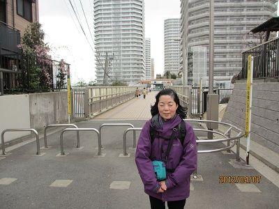 59 福寿歩道橋入口(終了地点)