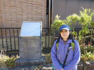 113 115野路一里塚碑(上北地公園内)