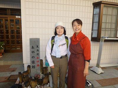 003 Yumiと女将さん