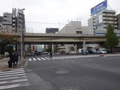 017 1里塚跡(金杉橋付近)
